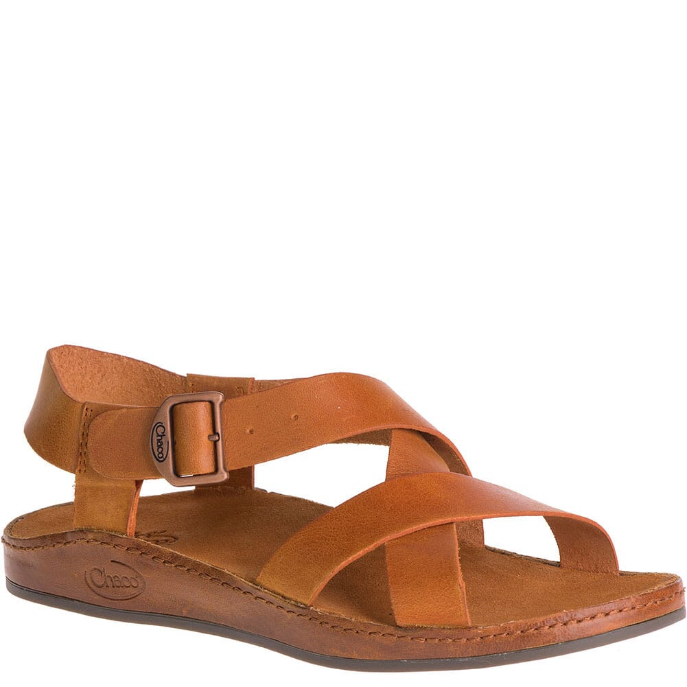 Image for Chaco Women's Wayfarer Sandals - Rust from bootbay