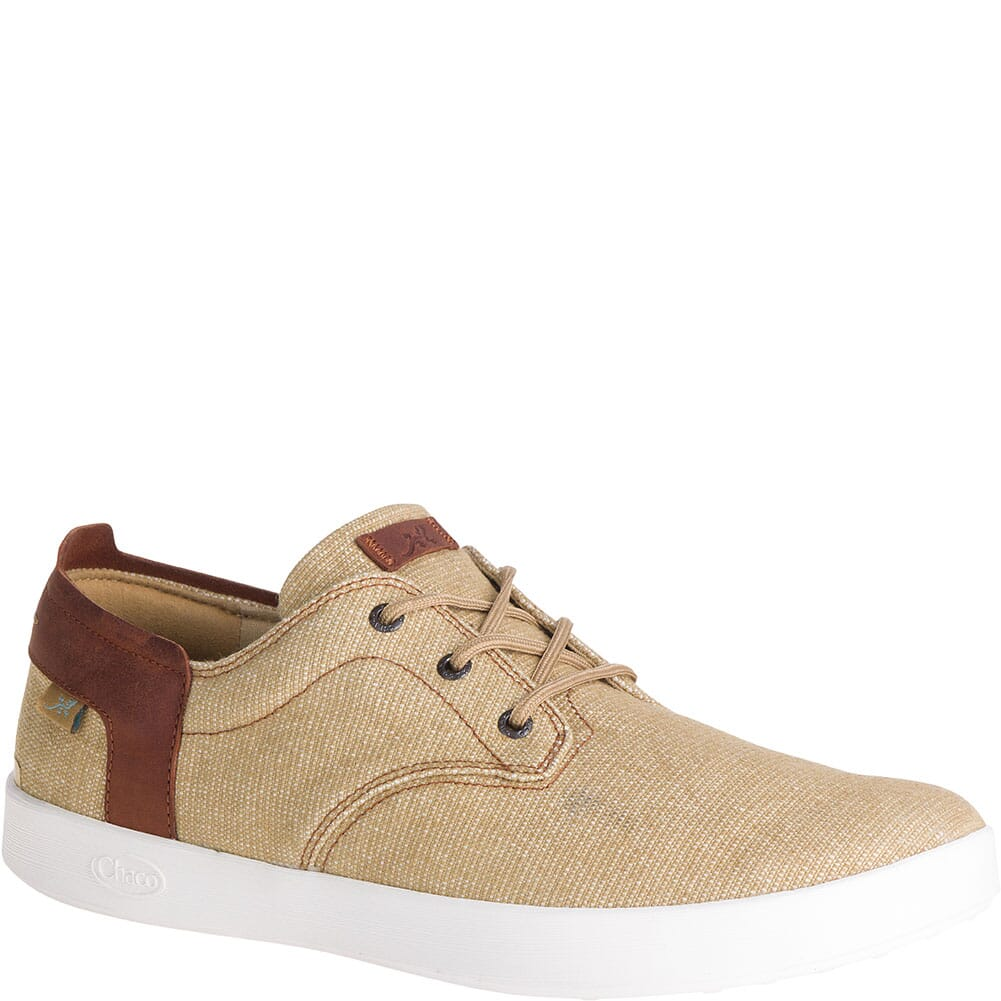 Image for Chaco Men's Davis Lace Up Casual Shoes - Tan from bootbay