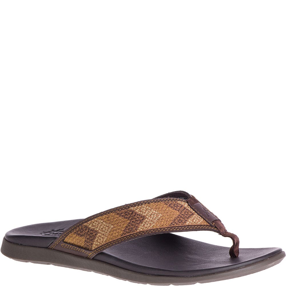 Image for Chaco Men's Marshall Flip Flops - Bind Java from bootbay