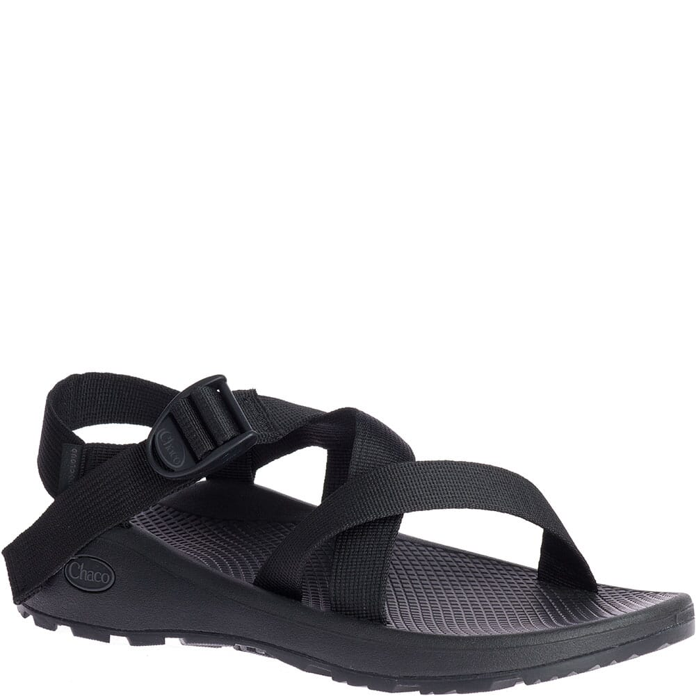 Image for Chaco Men's Z/1 Cloud Wide Sandals - Solid Black from bootbay