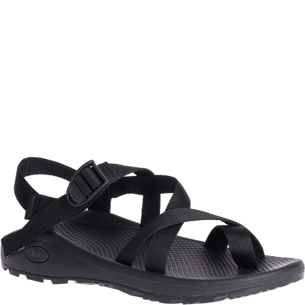 Image for Chaco Men's Z/Cloud 2 Wide Sandals - Solid Black from bootbay