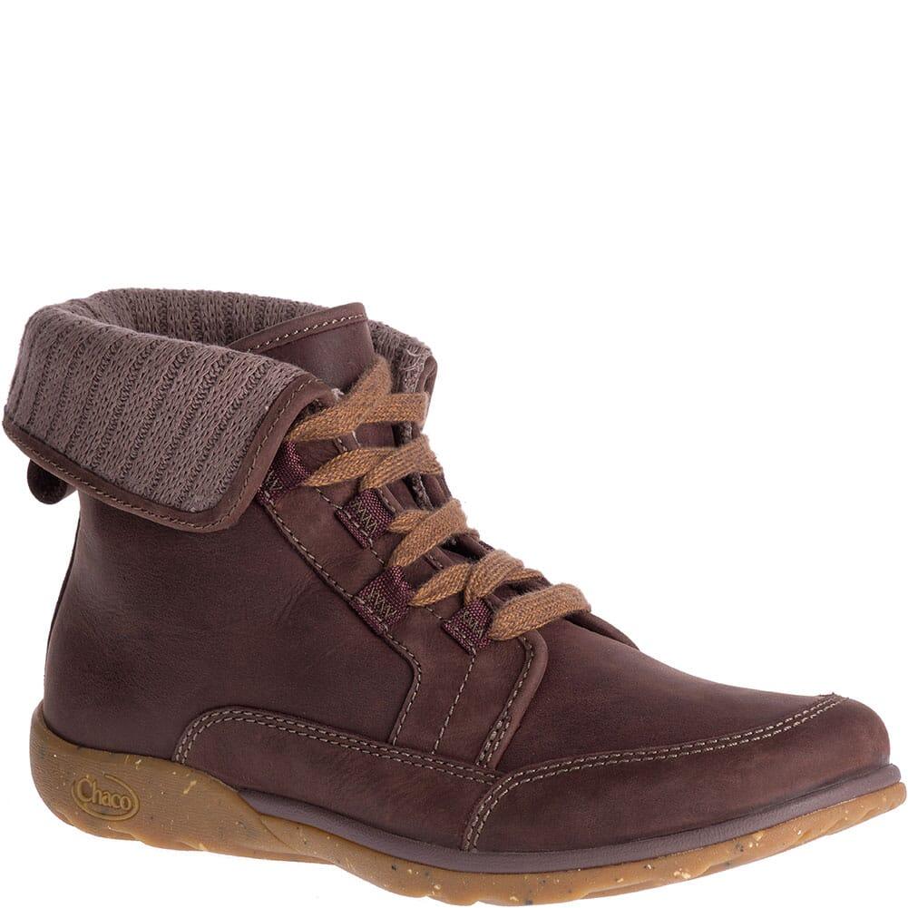 Image for Chaco Women's Cataluna Mid Casual Boots - Mahogany from bootbay