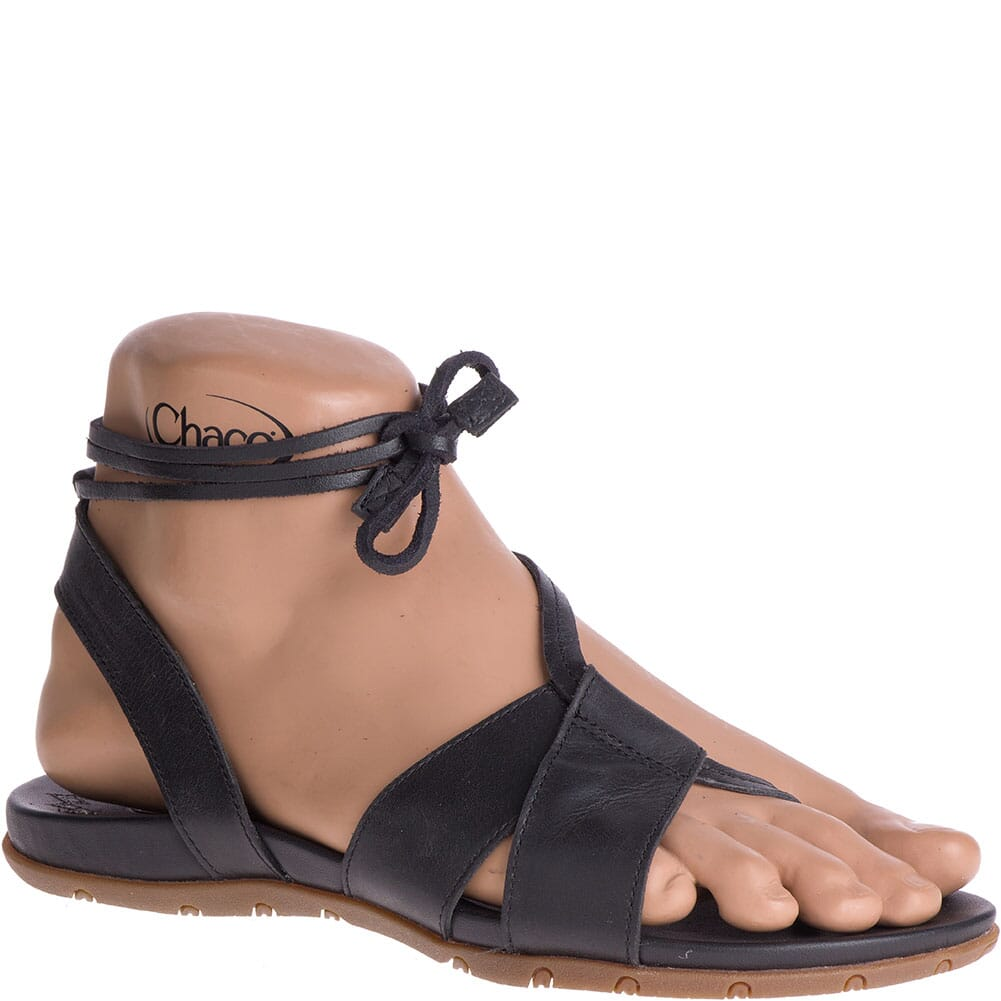 Image for Chaco Women's Sage Sandals - Black from bootbay