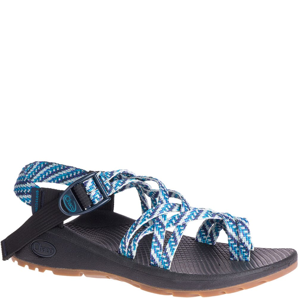 Image for Chaco Women's Z/Cloud X2 Wide Sandals - Pivot Navy from bootbay