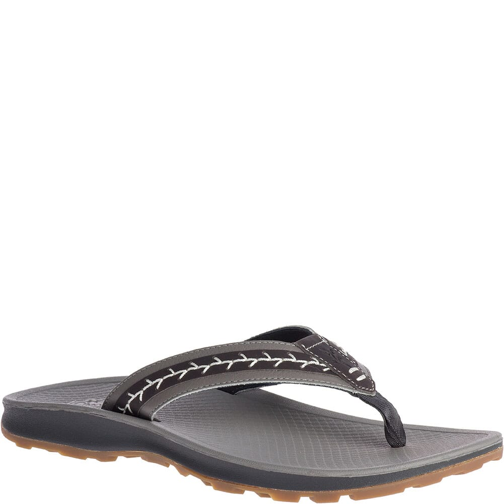 Image for Chaco Women's Playa Pro Leather Sandals - Gray from elliottsboots