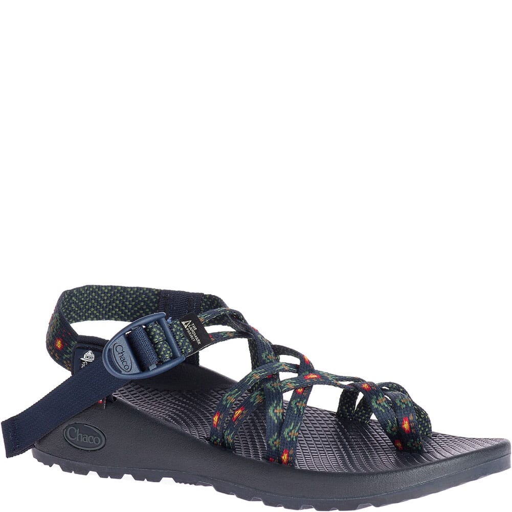 Image for Chaco Women's ZX/2 Classic USA Sandals - Smokey Forest Navy from bootbay