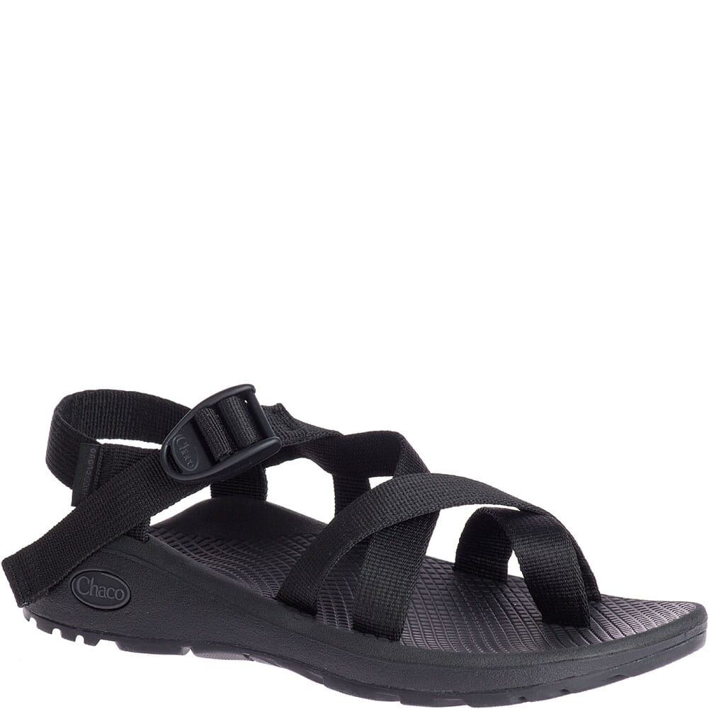 Image for Chaco Women's Z/Cloud 2 Wide Sandals - Solid Black from bootbay
