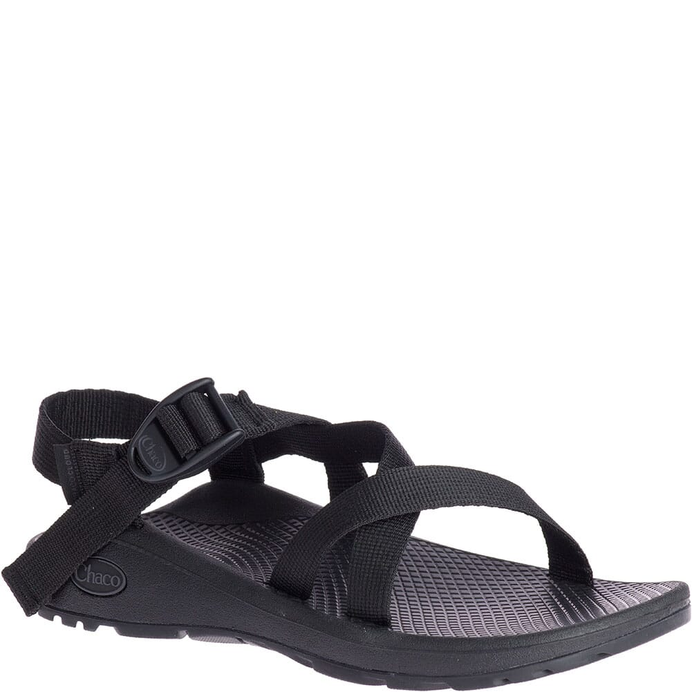 Image for Chaco Women's Z/Cloud Wide Sandals - Solid Black from bootbay