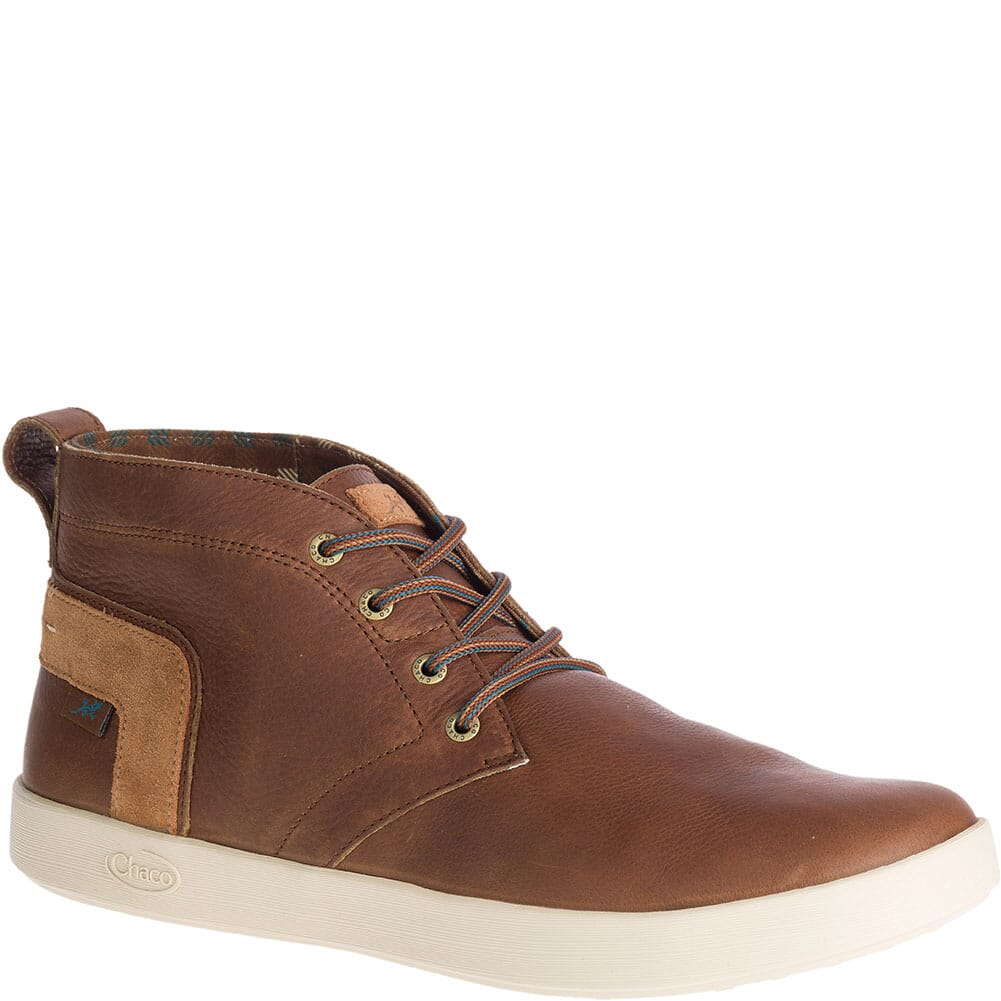 Image for Chaco Men's Davis Mid Leather Casual Shoes - Toffee from bootbay