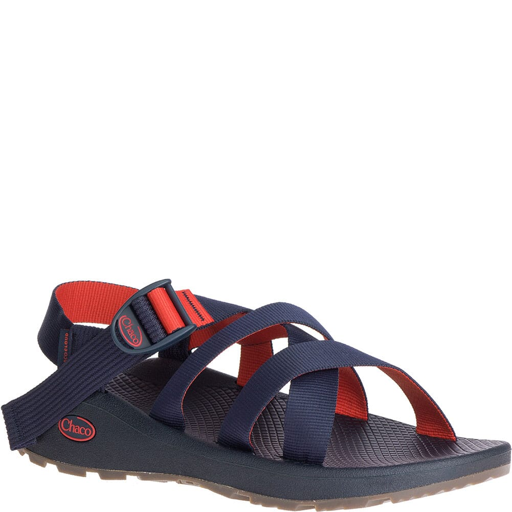 Image for Chaco Men's Banded Z/Cloud Sandals - Navy Red from bootbay