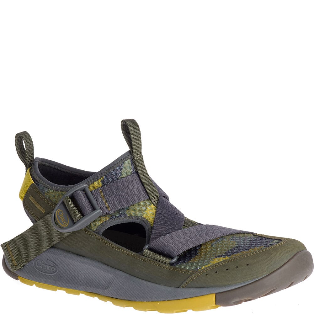 Image for Chaco Men's Odyssey Print Sandals - Camo Olive from bootbay