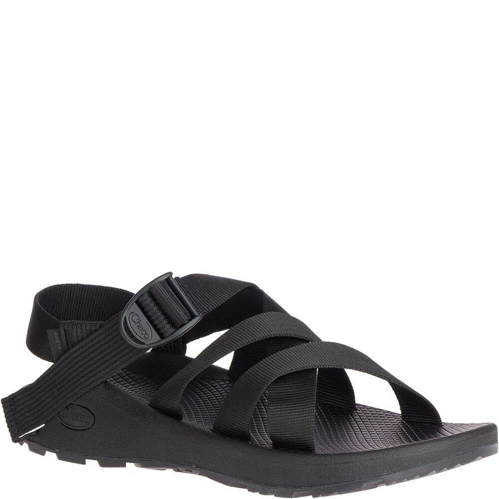 Image for Chaco Men's Banded Z/Cloud Sandals - Solid Black from bootbay