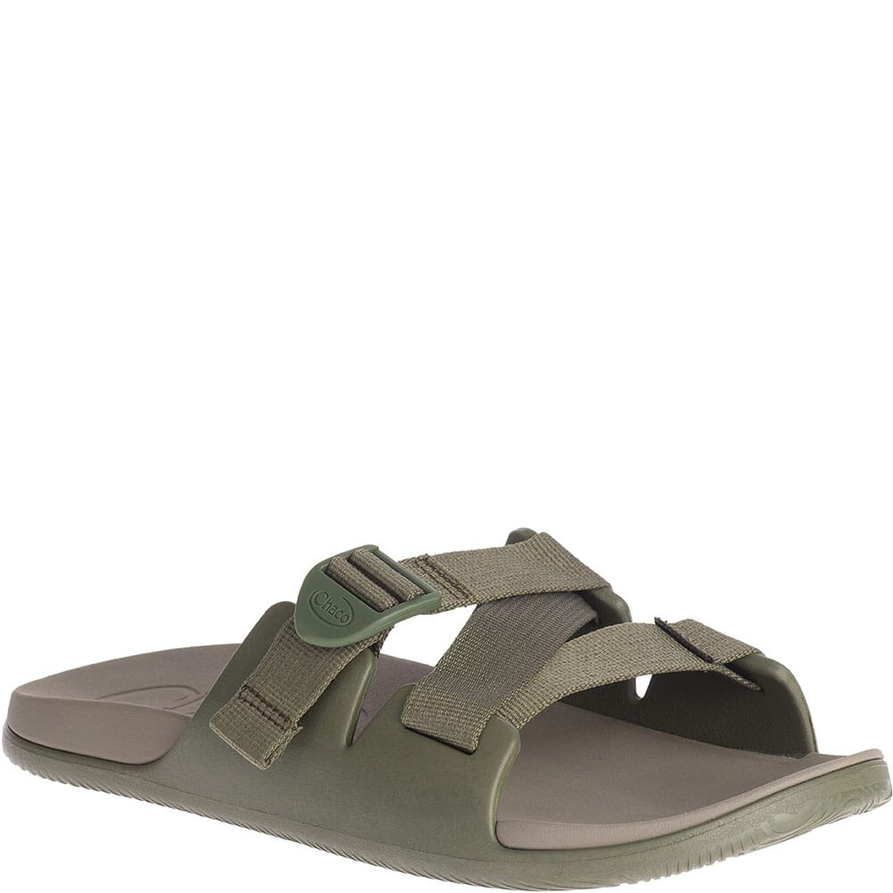 Image for Chaco Men's Chillos Ultra-Light Sport Slides - Fossil from bootbay