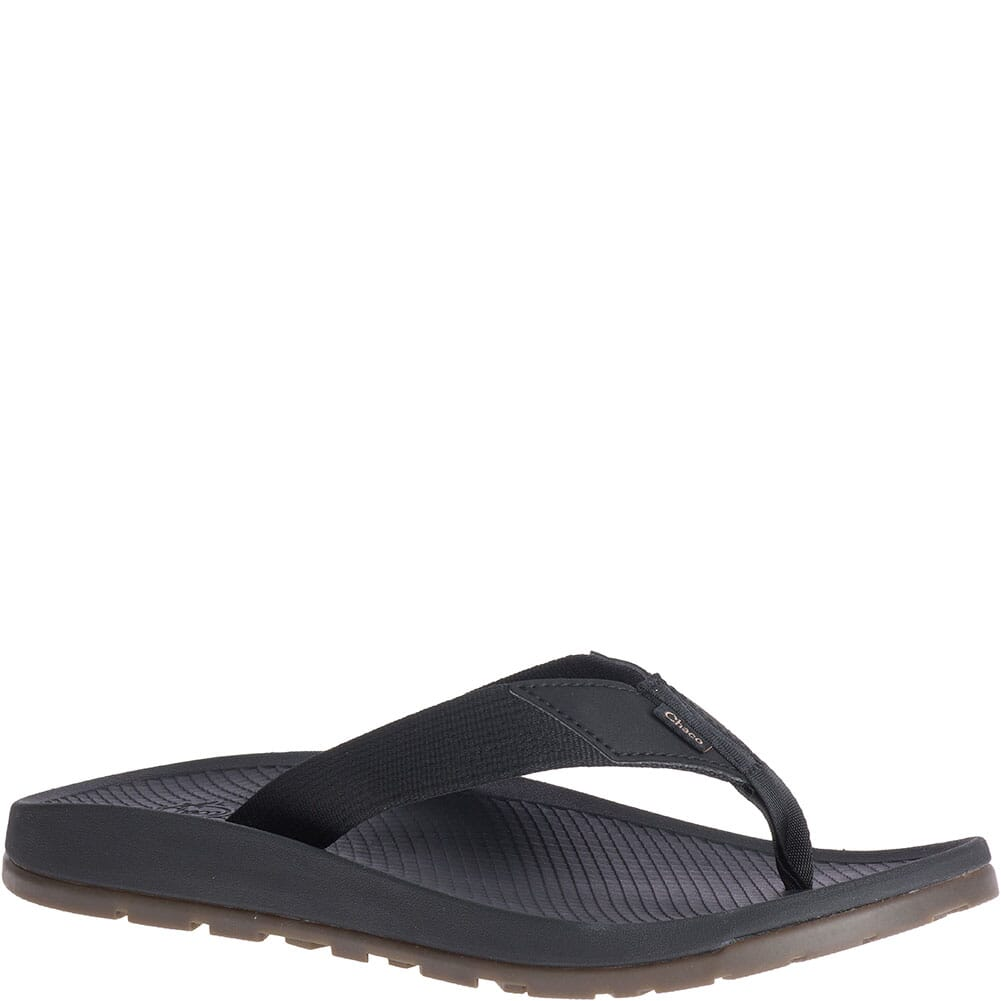 Image for Chaco Men's Lowdown Flip Flops - Black from bootbay