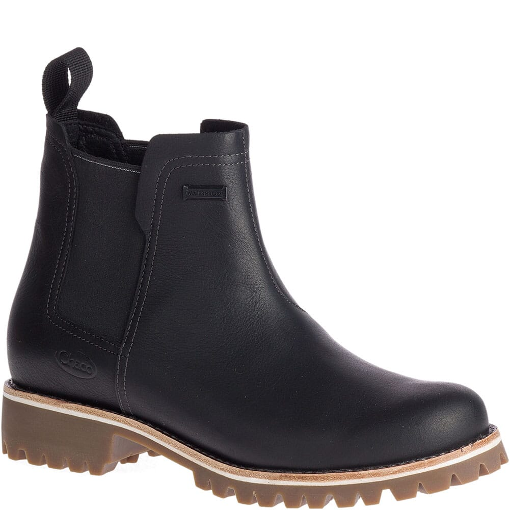 Image for Chaco Women's Fields Chelsea WP Casual Boots - Black from bootbay