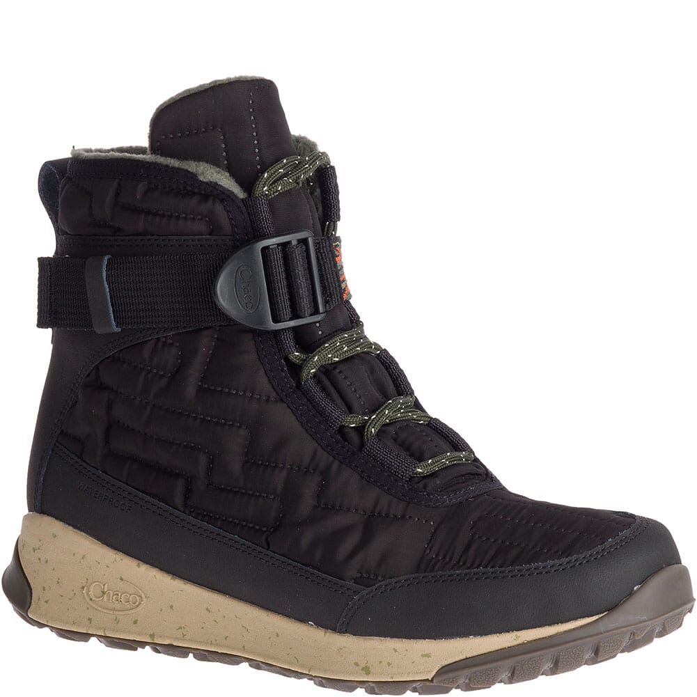 Image for Chaco Women's Borealis Quilt WP Casual Boots - Black from bootbay