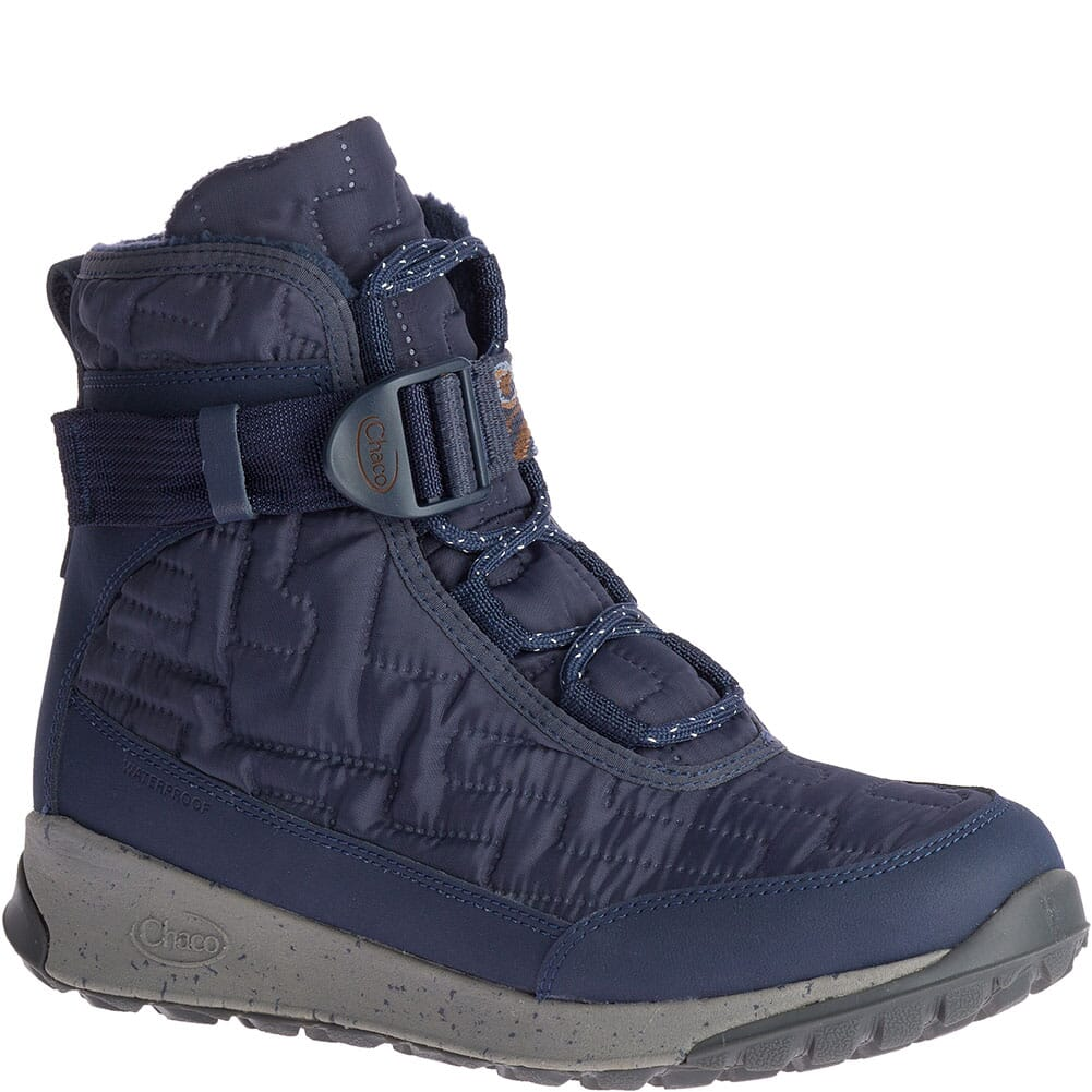 Image for Chaco Women's Borealis Quilt WP Casual Boots - Denim from bootbay