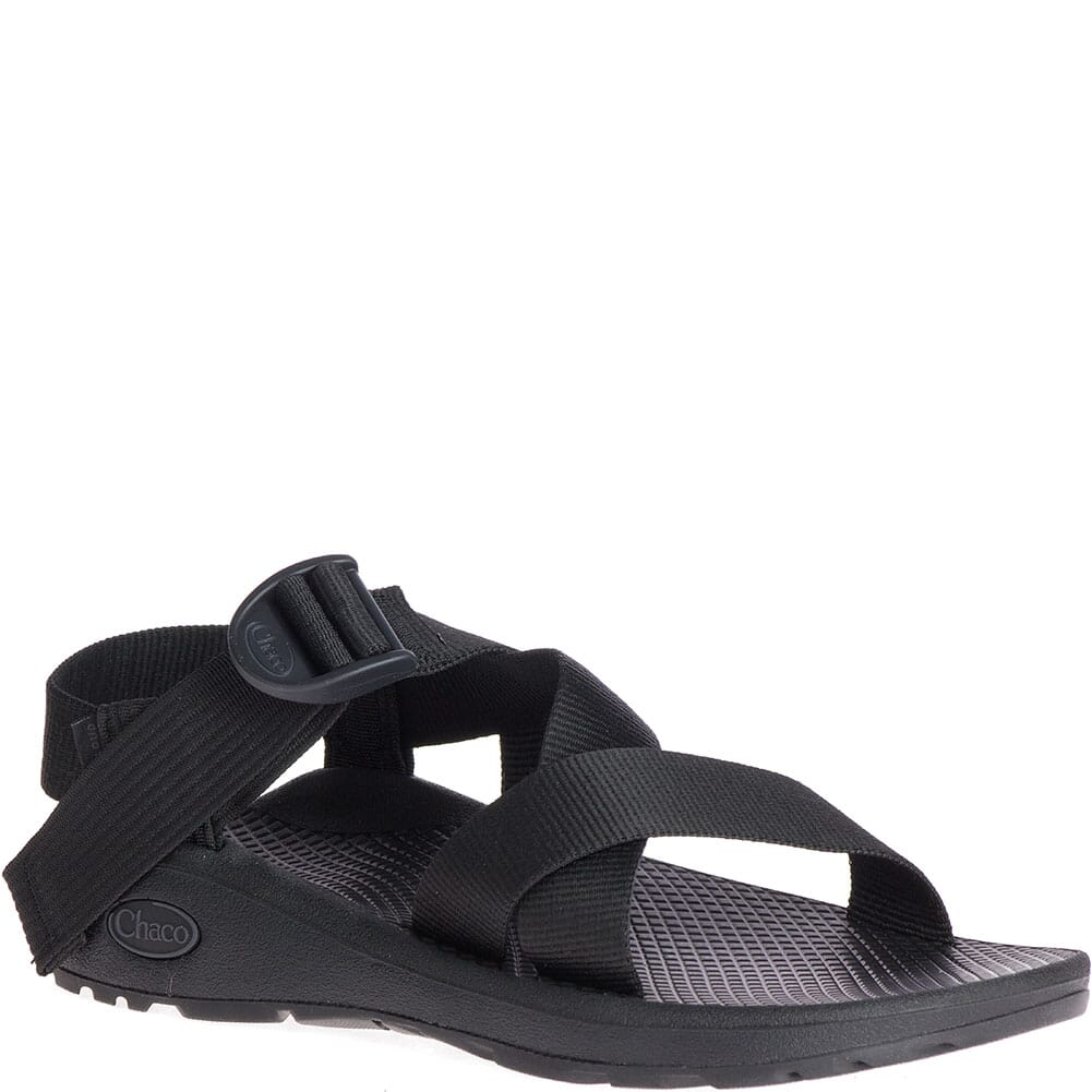 Image for Chaco Men's Mega Z/Cloud Sandals - Solid Black from bootbay