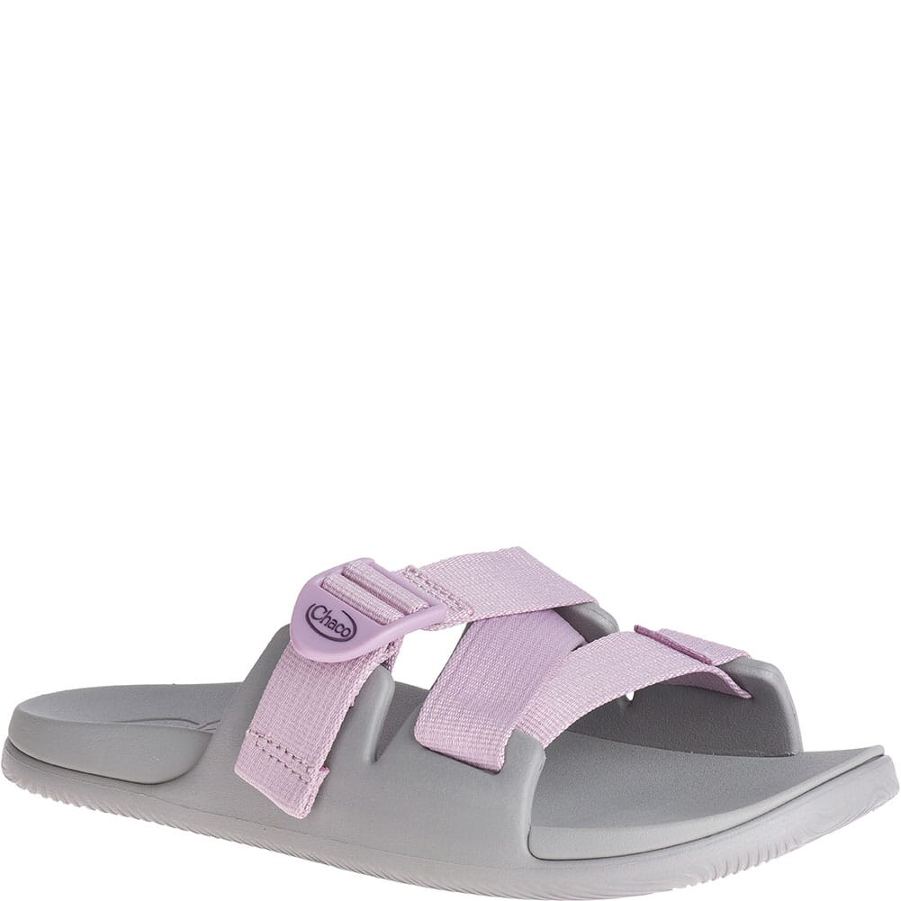 Image for Chaco Women's Chillos Slides - Solid Mauve from bootbay