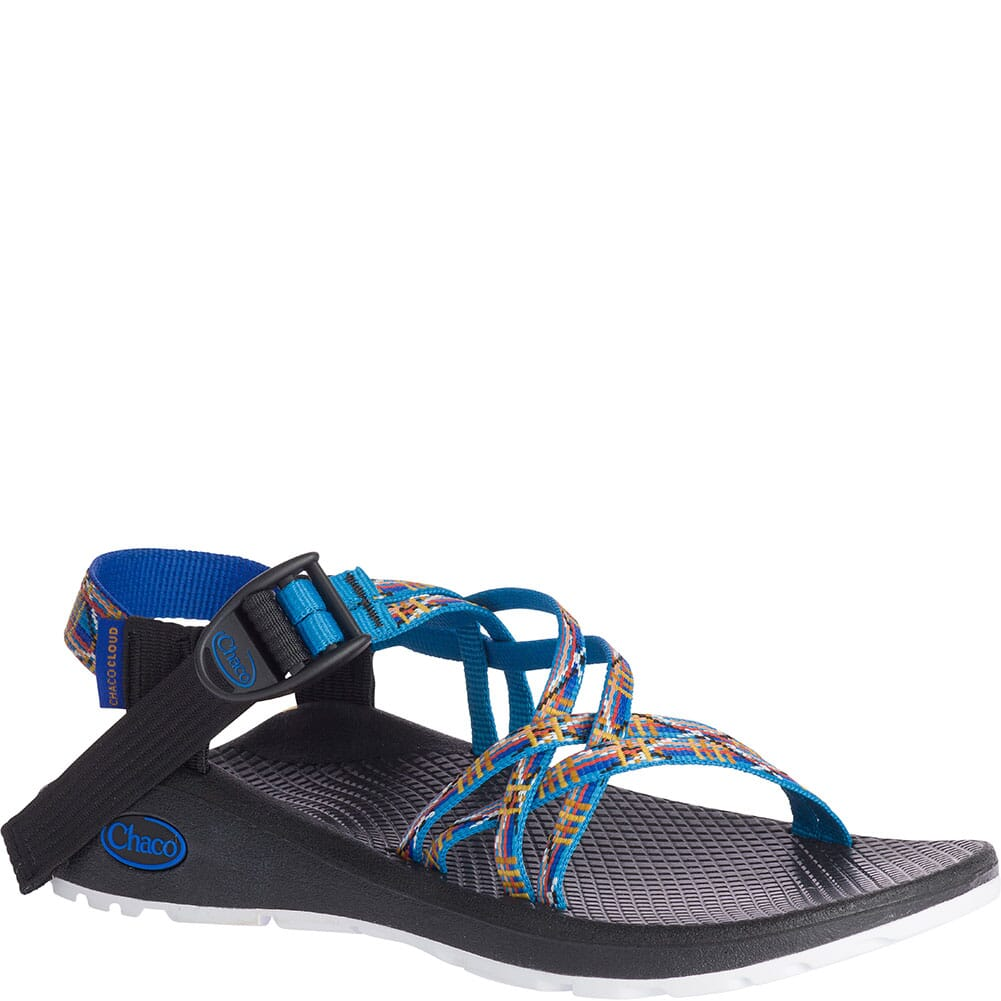 Image for Chaco Women's Z/Cloud X Sandals - Woven Cerulean from bootbay