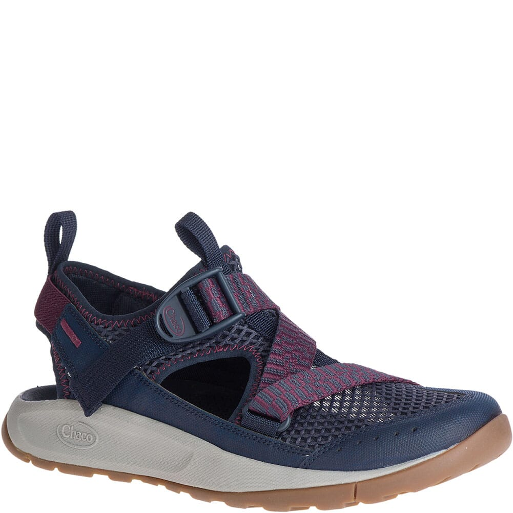 Image for Chaco Women's Odyssey Sandals - Navy Red from bootbay