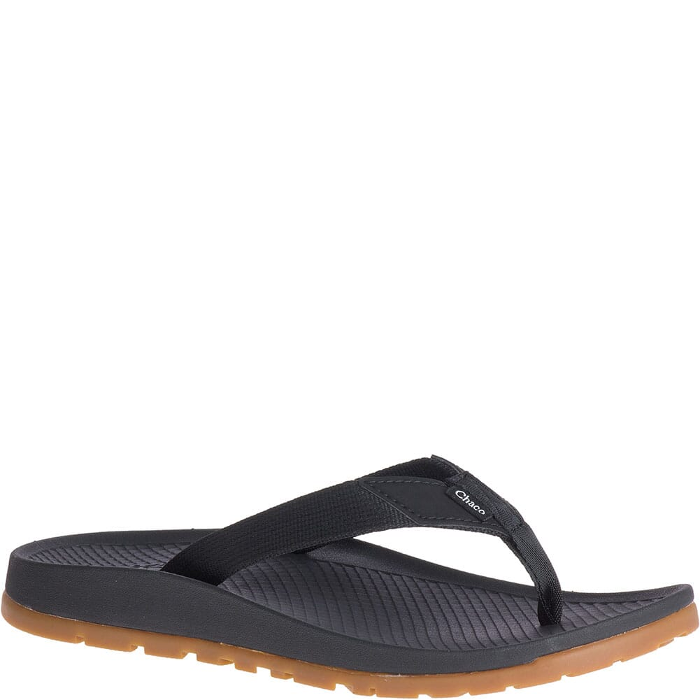 Image for Chaco Women's Lowdown Flip Flops - Black from elliottsboots