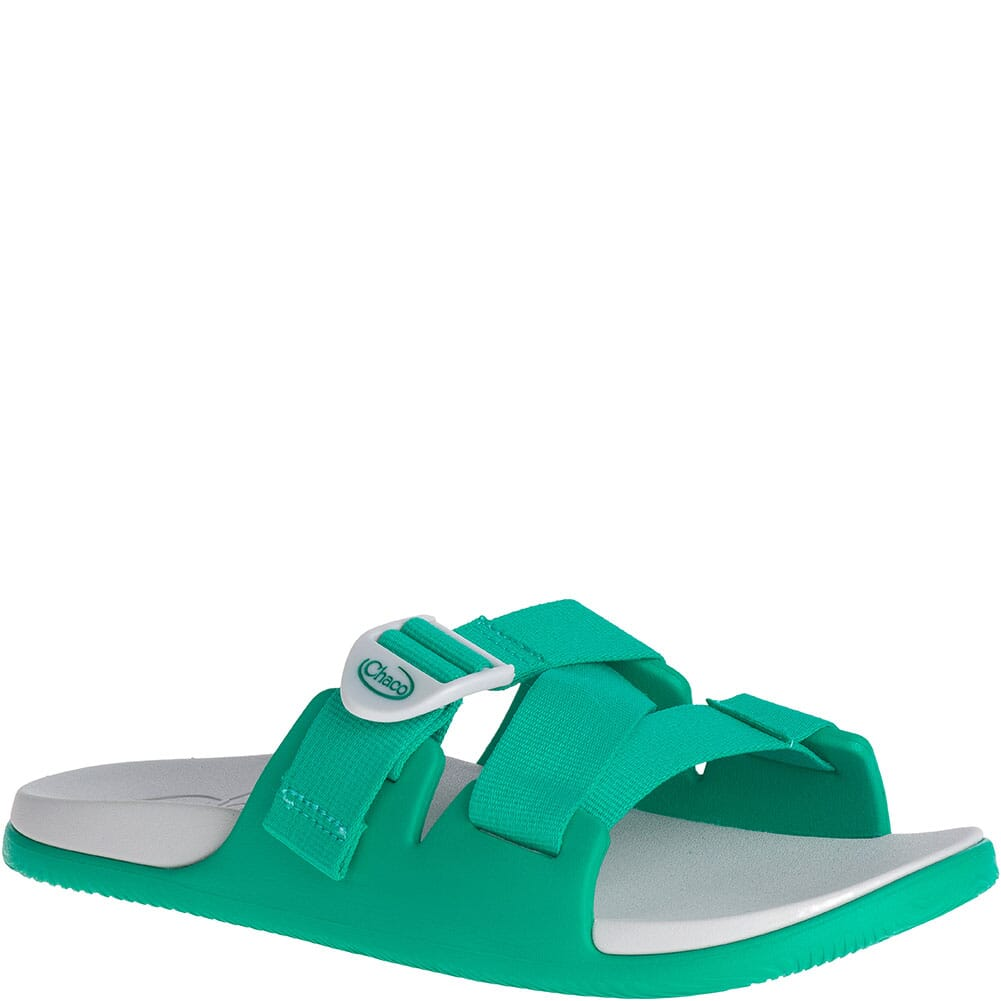 Image for Chaco Women's Chillos Slides - Teal from elliottsboots