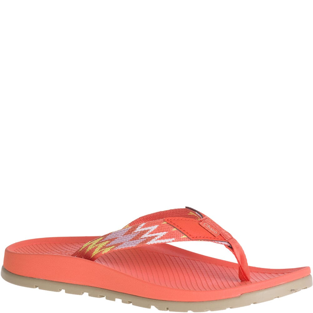 Image for Chaco Women's Lowdown Flip Flops - Tricky Tiger from elliottsboots