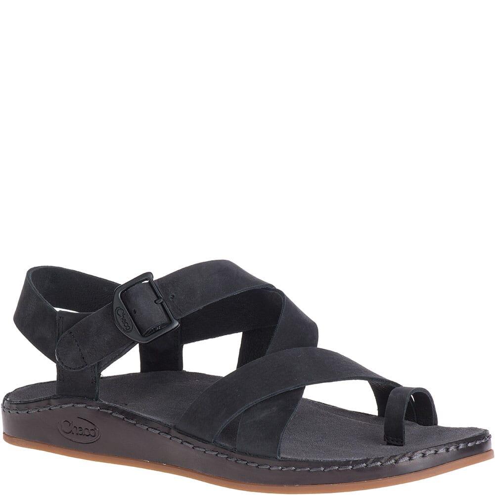 Image for Chaco Women's Wayfarer Loop Sandals - Black from elliottsboots
