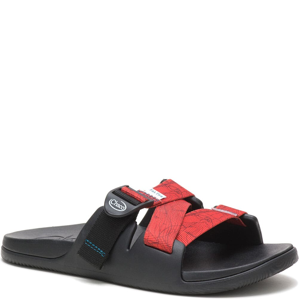 Image for Chaco Women's Chillos Slides - Contour Black from bootbay