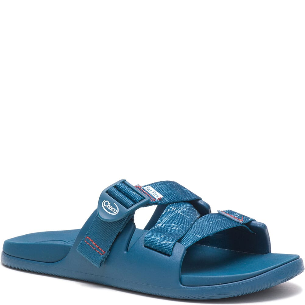 Image for Chaco Women's Chillos Slides - Contour Navy from elliottsboots