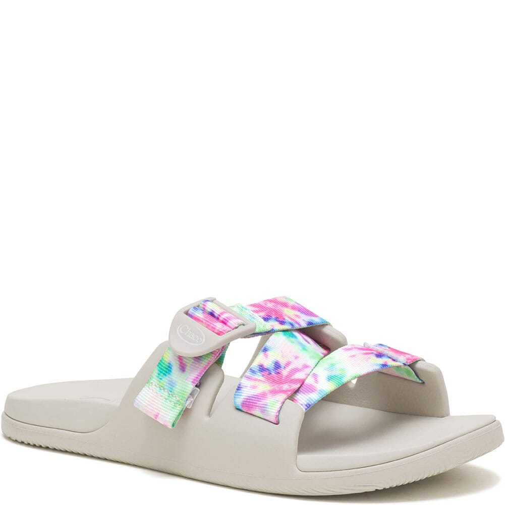 Image for Chaco Women's Chillos Slides - Light Tie Dye from bootbay