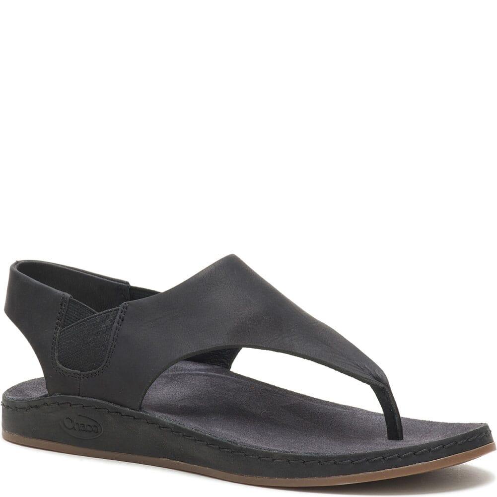 Image for Women's Wayfarer Post Sandals - Black from bootbay