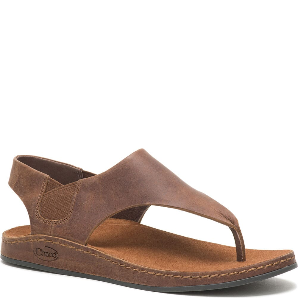 Image for Women's Wayfarer Post Sandals - Toffee from bootbay