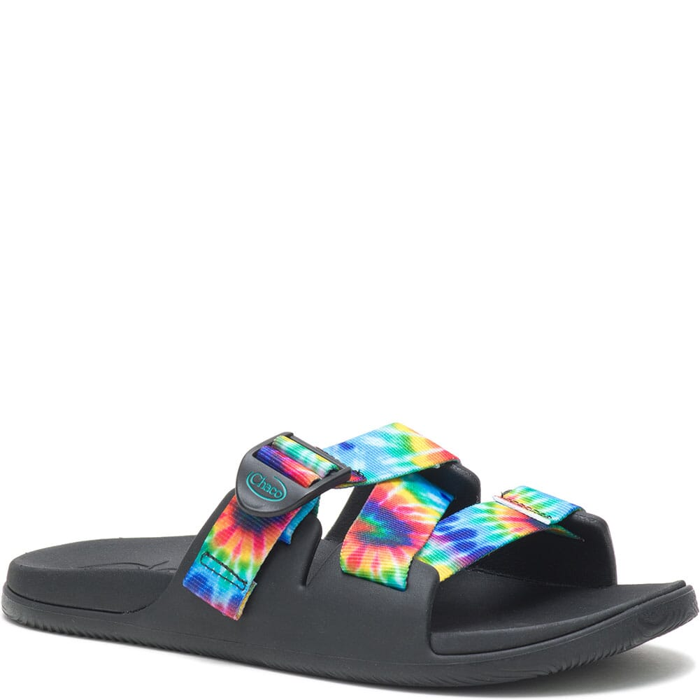 Image for Chaco Women's Chillos Slides - Dark Tie Dye from bootbay