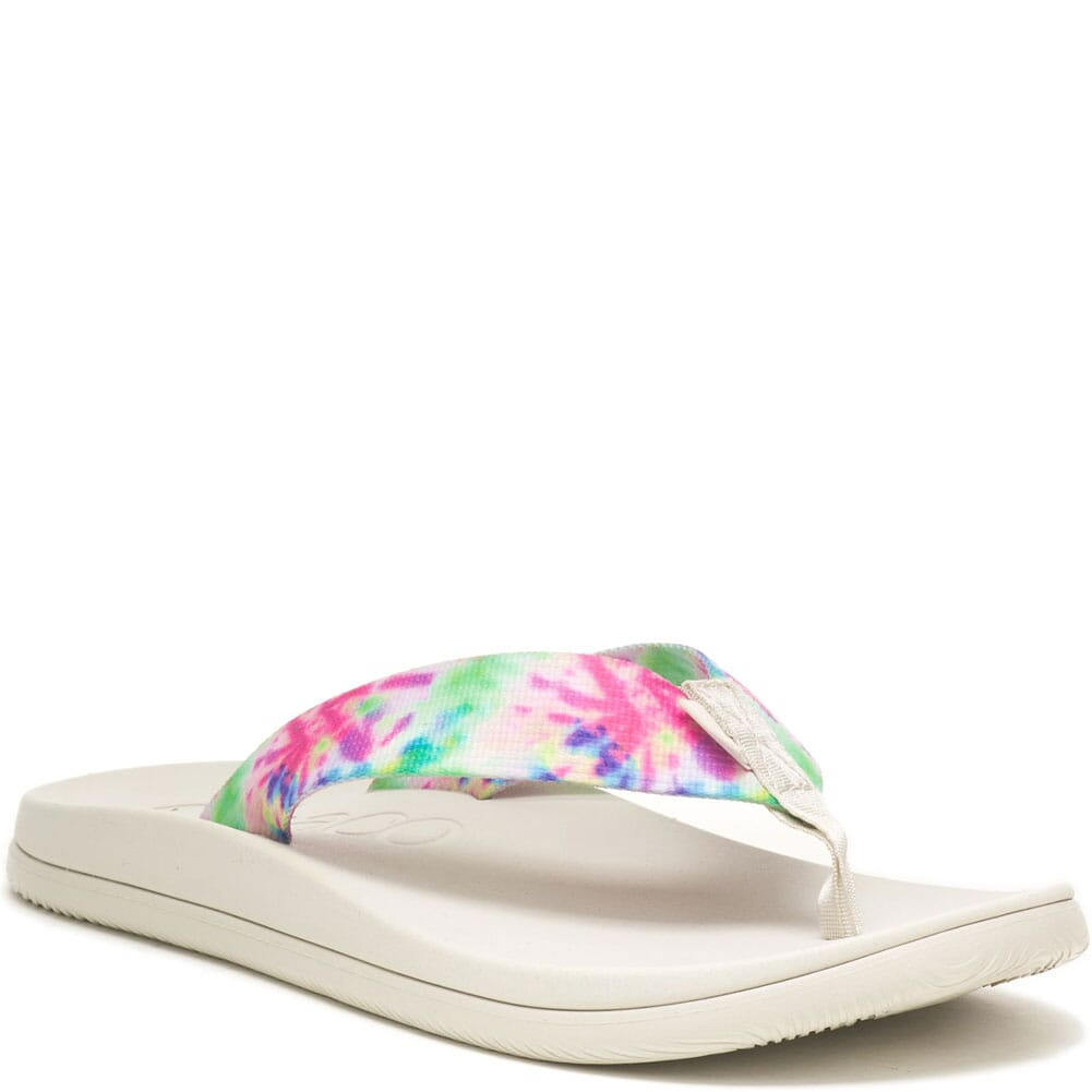 Image for Chaco Women's Chillos Flip Flops - Light Tie Dye from bootbay
