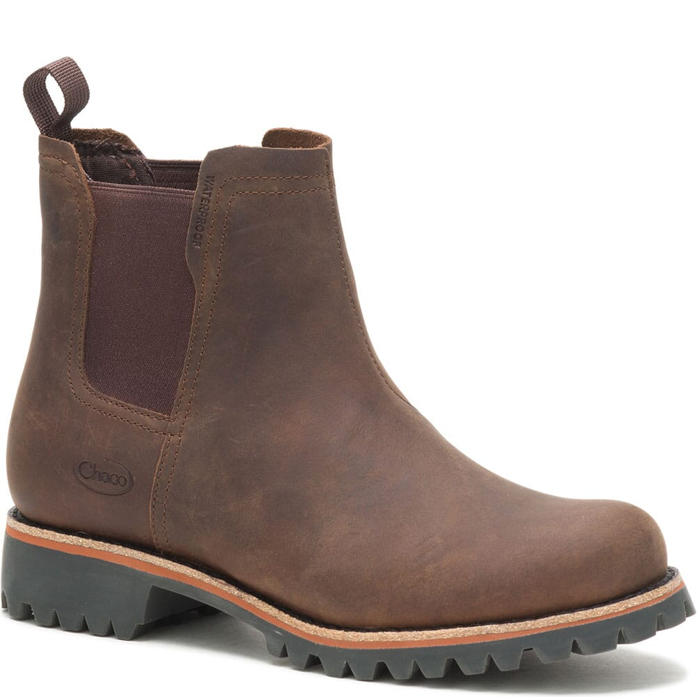 Image for Chaco Women's Fields Chelsea WP Casual Boots - Chestnut Brown from bootbay