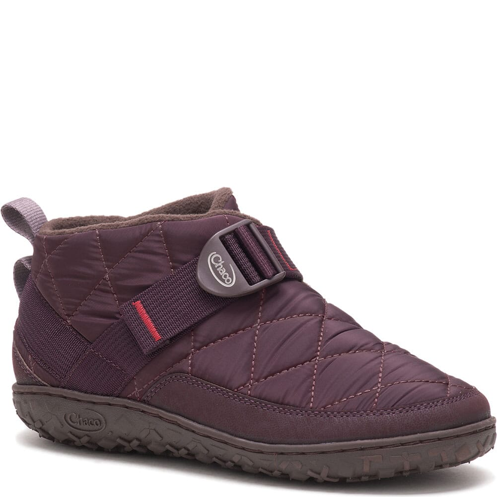 Image for Chaco Women's Ramble Puff Casual Slippers - Plum from bootbay