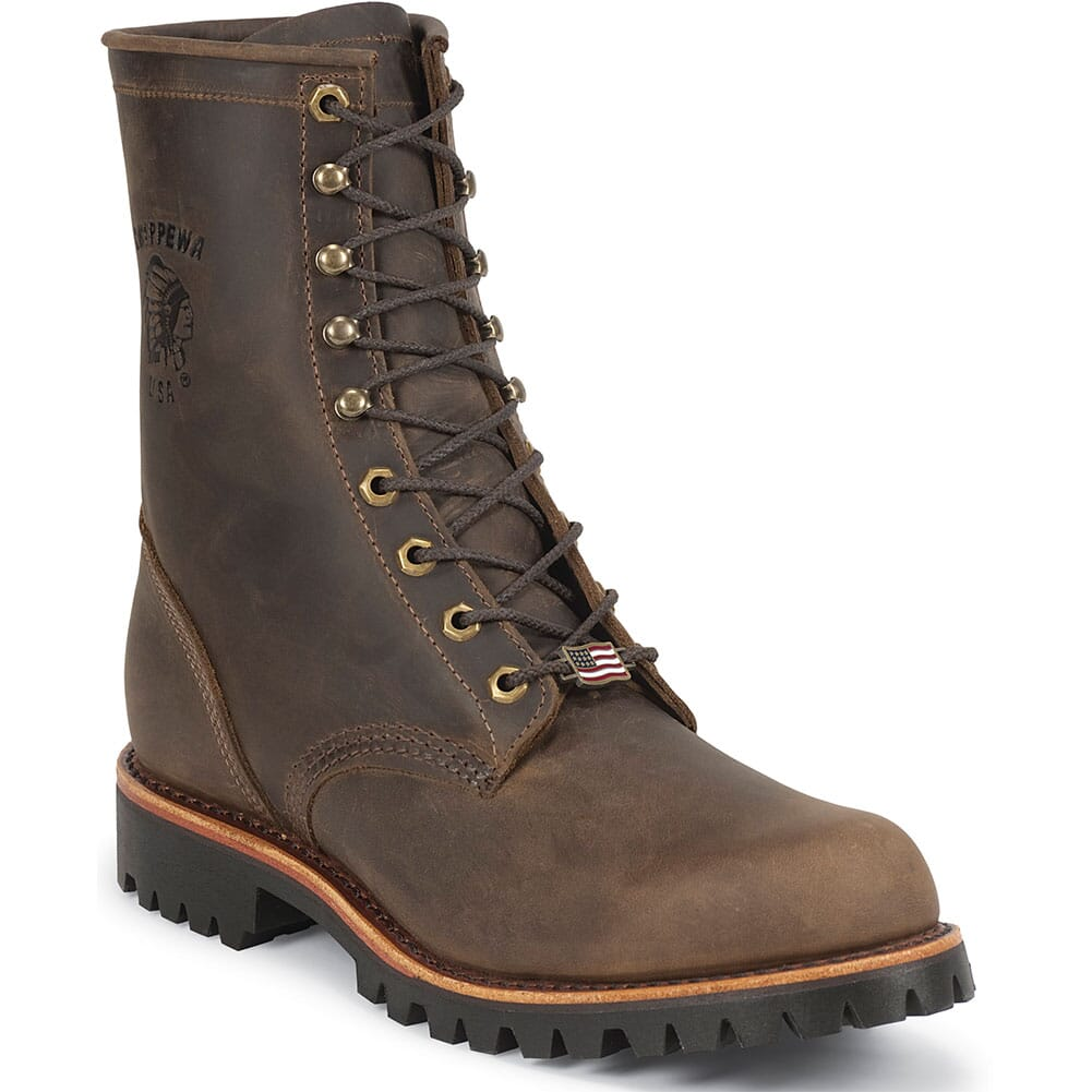Image for Chippewa Men's Safety Boots - Chocolate from bootbay