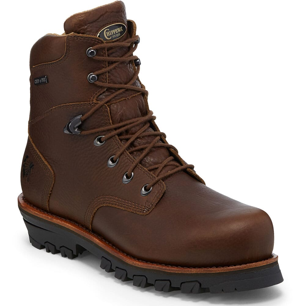 Image for Chippewa Men's Honcho WP Safety Boots - Brown from bootbay
