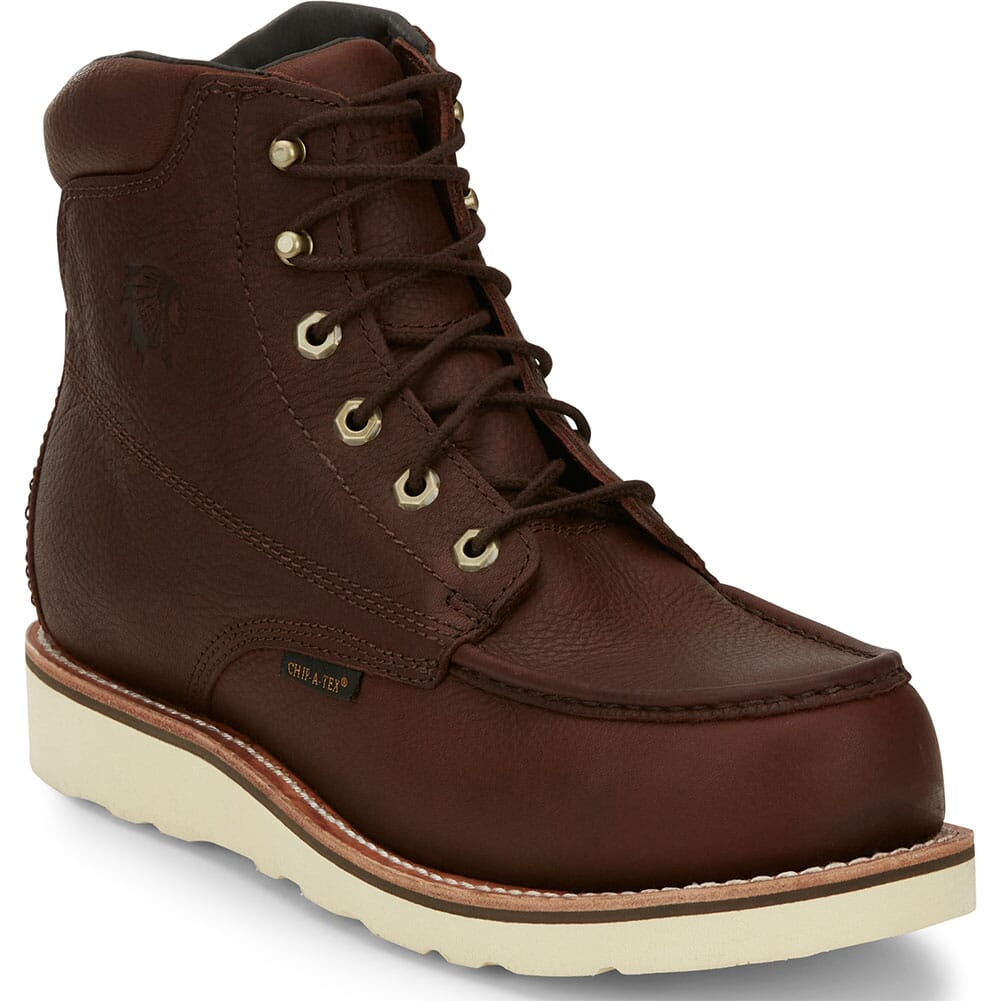 Image for Chippewa Men's Edge Walker EH Safety Boots - Brown from bootbay
