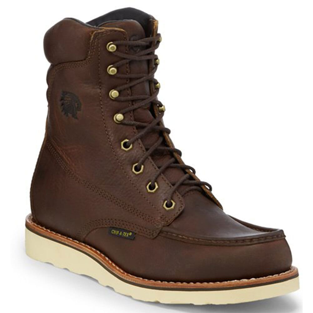 Image for Chippewa Men's Edge Walker Lace Up Work Boots - Brown from bootbay