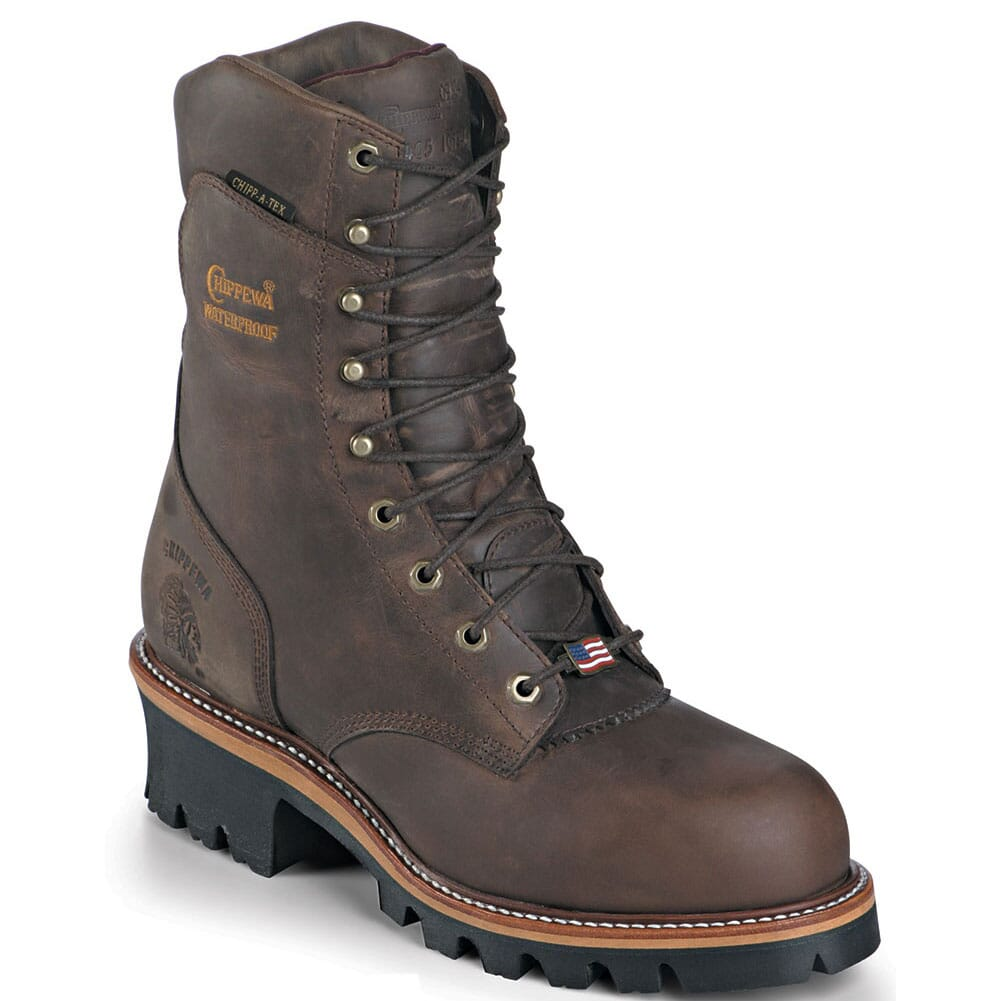 Image for Chippewa Men's Super Work Loggers - Bay Apache from bootbay