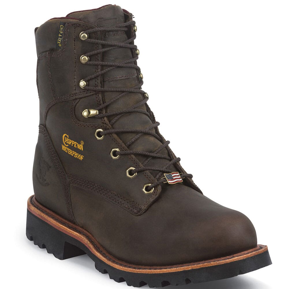 Image for Chippewa Men's Arctic WP INS Safety Boots - Bay Apache from bootbay
