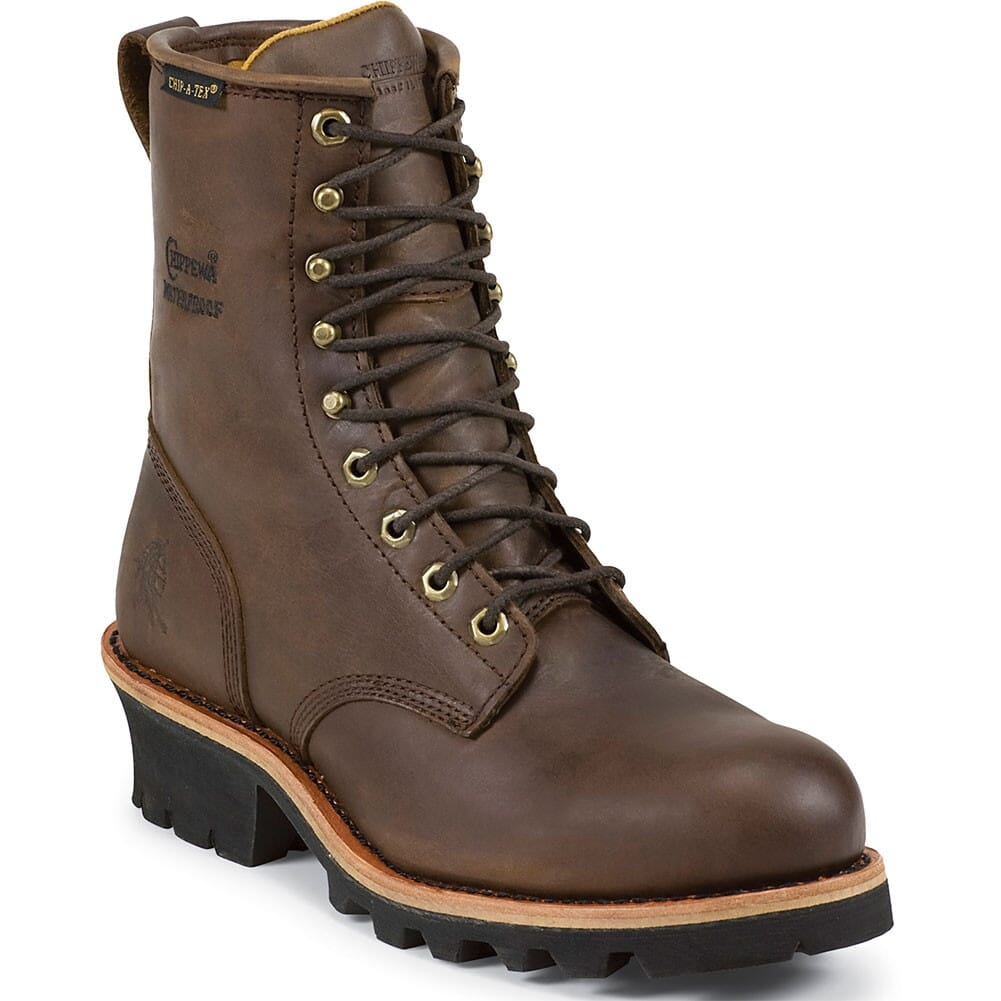 Image for Chippewa Men's Waterproof Safety Loggers - Apache from bootbay