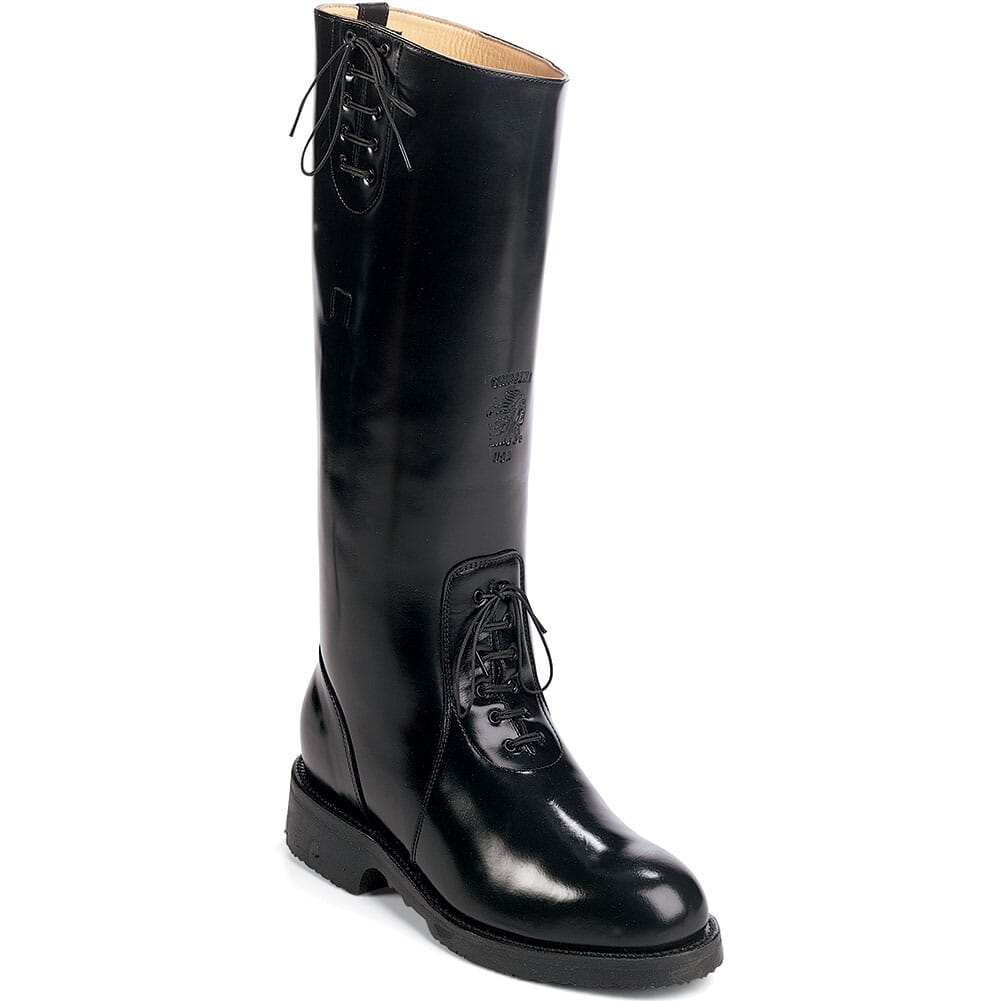 Image for Chippewa Men's Trooper USA Motorcycle Boots - Black from bootbay