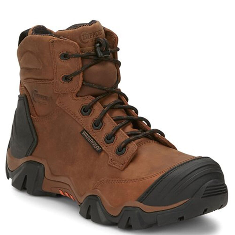Image for Chippewa Men's Atlas WP Safety Boots - Brown from bootbay