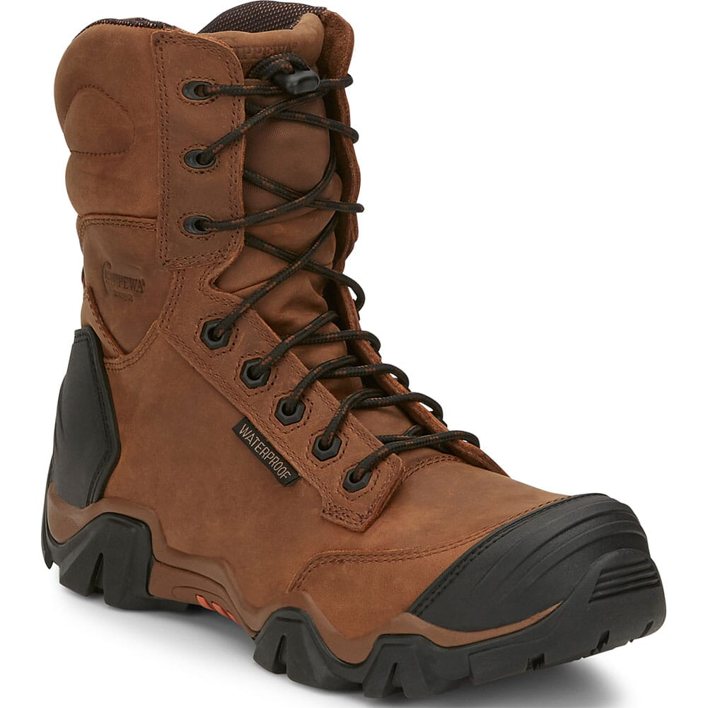 Image for Chippewa Men's Cross Terrain WP Safety Boots - Brown from bootbay