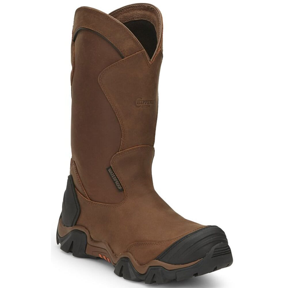 Image for Chippewa Men's Atlas WP Pull On Safety Boots - Brown from bootbay