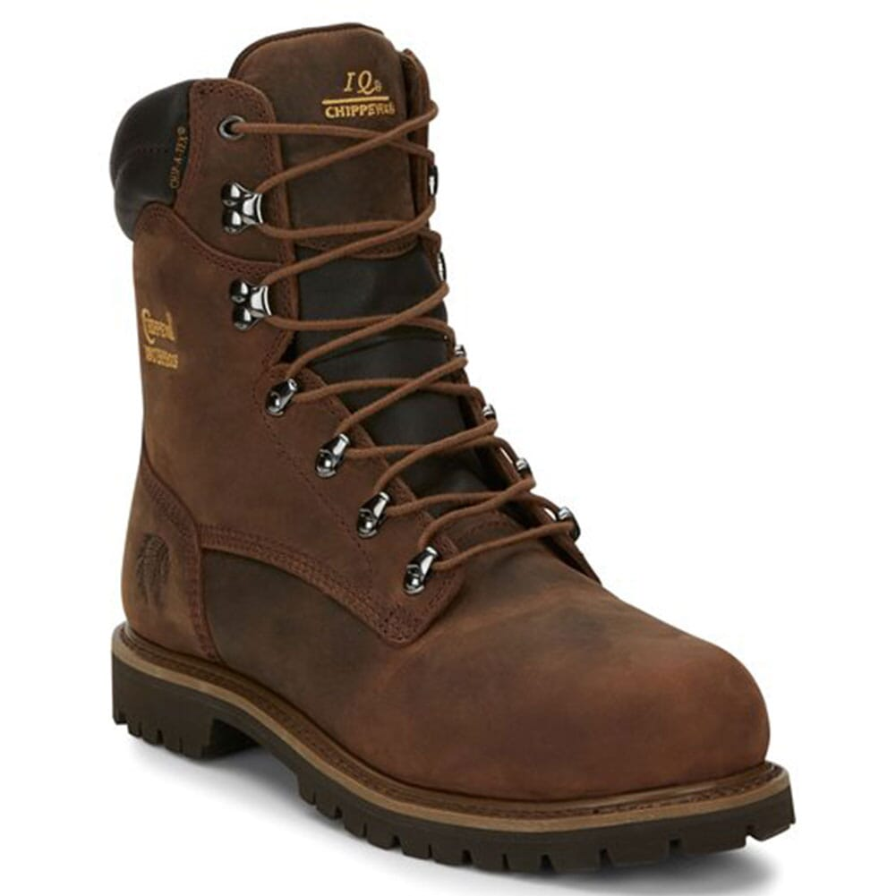 Image for Chippewa Men's Birkhead WP Safety Boots - Brown from bootbay
